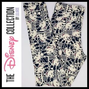 LuLaRoe Disney Collection Mickey Mouse OS Leggings